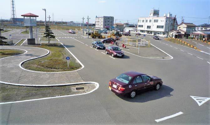白根中央自動車学校 教習コース